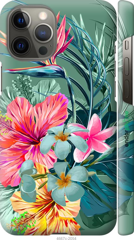 Тропические цветы v1