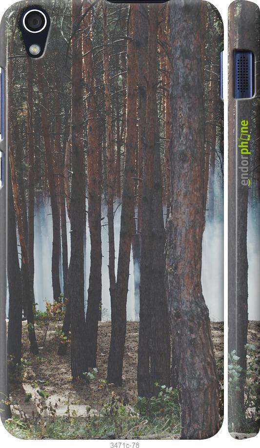 Лес и дым