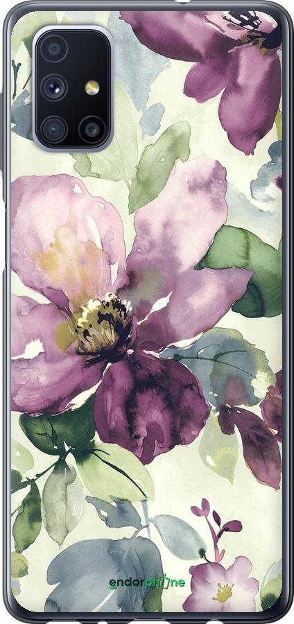 Цветы акварелью