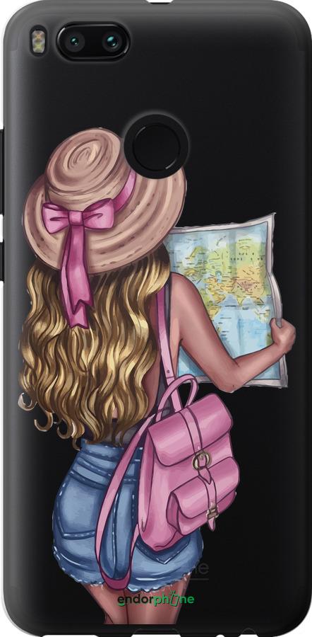 Девушка с картой